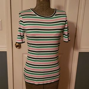 J.Crew perfect T set of two